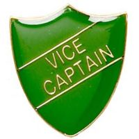 ShieldBadge Vice Captain Green</br>SB014G